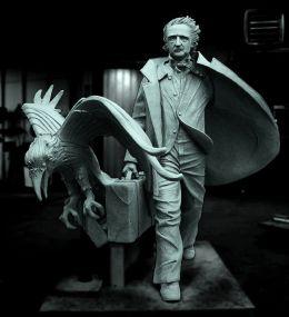 poe statue
